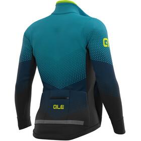 Alé Cycling PR-S Delta Combi DWR Stretch Veste Homme, black/petrol/turquoise